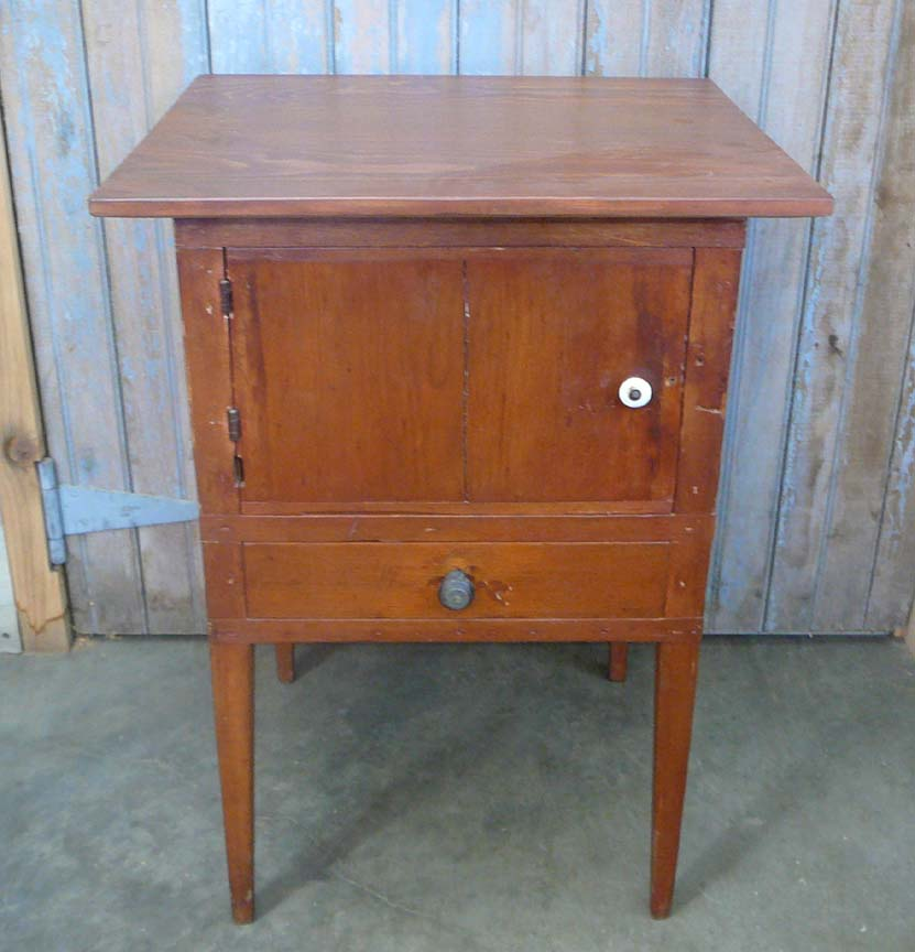 ET-73 Antique Shaker Style Pine End Table