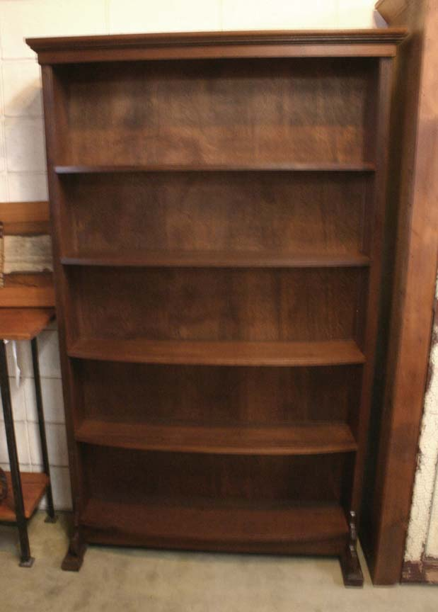 SH-08 BLACK WALNUT BOOKCASE