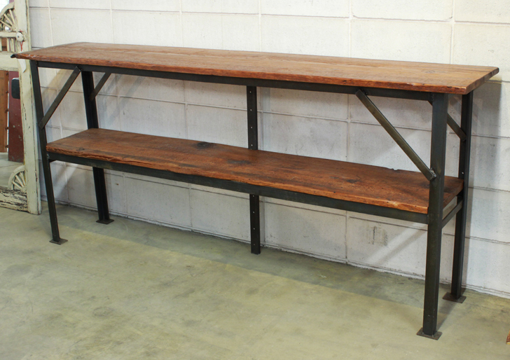 SP-66 Vintage Angle Iron Shelving ~ $1395