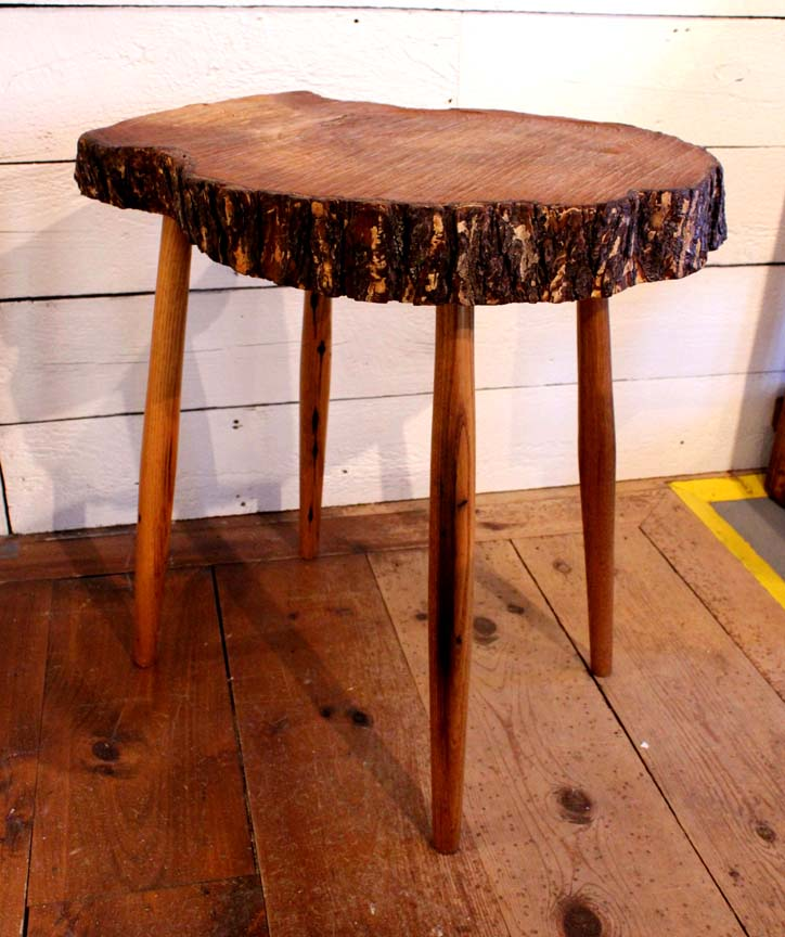 ET-58 Tree Slab End Table